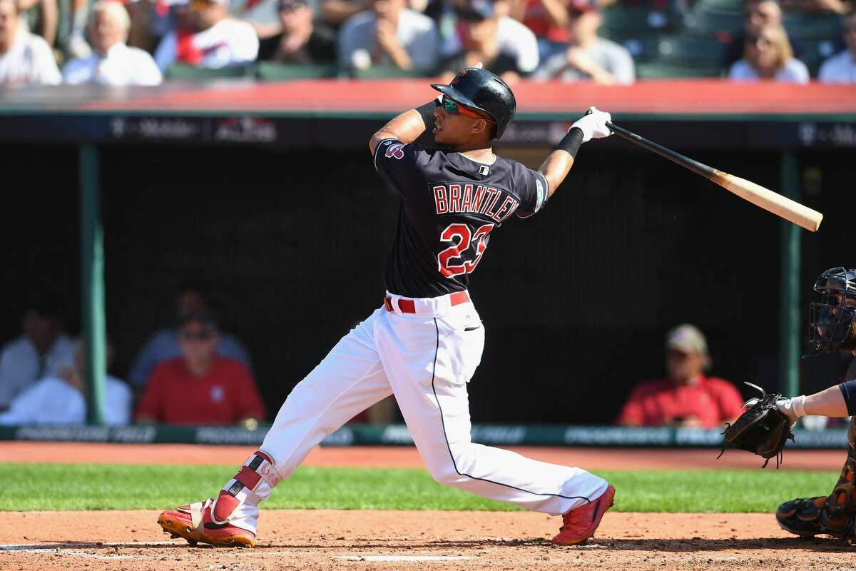Michael Brantley, who will sign with the Astros as a free agent, will give GM Jeff Luhnow and manager A.J. Hinch some interesting options and questions in the outfield.