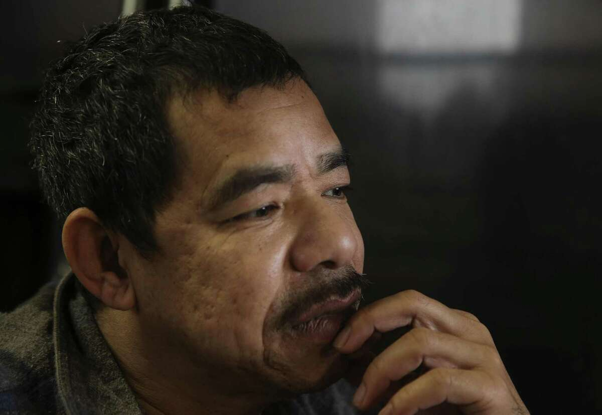 Khanh Hung Le, 47, thinks about what would happen to him and his 7-year-old daughter if he is deported back to Vietnam. Le and his daughter live at his sister's house in Spring. Le legally moved to the United States in the 1990s and has criminal records from when he was young. A car accident a few years ago left him paralyzed from the chest down. Le constantly has nerve pain and fears that he will die within months if he is deported.