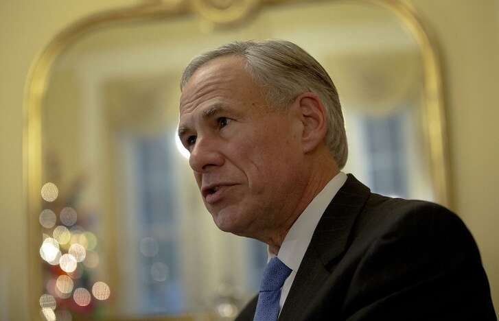 Texas Gov. Greg Abbott speaks during an interview at the Texas Governor's Mansion on Thursday, Dec. 6, 2018, in Austin, Texas. (Nick Wagner/Austin American-Statesman via AP)