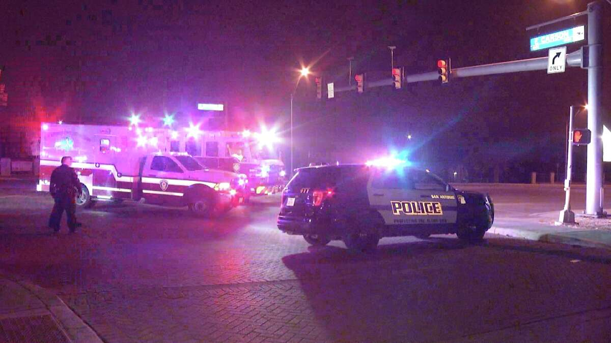 A cement truck driver found the woman lying in the street at about 2:50 a.m. near North Walters and East Carson and reported the discovery to military police at nearby Ft. Sam Houston.