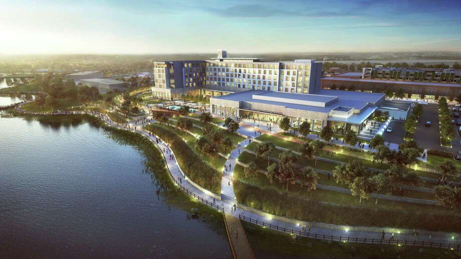 Katy Boardwalk District has announced plans for a lakefront destination to serve as a hub for entertainment, community and culture anchored by the area's first full-service conference center hotel, luxury loft residences and a  90-acre nature preserve showcasing the region's native trees, flora and wildlife. Photo: Katy Boardwalk District