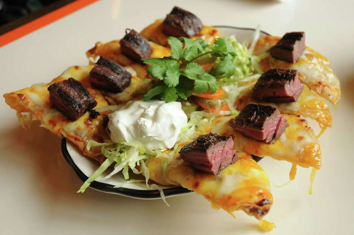 Steak fajita nachos at Superica