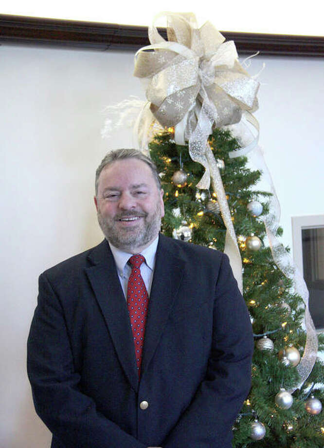 Tim Harr, Edwardsville's city administrator, will retire Dec. 31 after 22 years of service to the city. Photo: Charles Bolinger | The Intelligencer