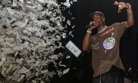 31e5d77c0 Rapper Travis Scott is a Missouri City native. (Photo by Thaddaeus  McAdams/WireImage
