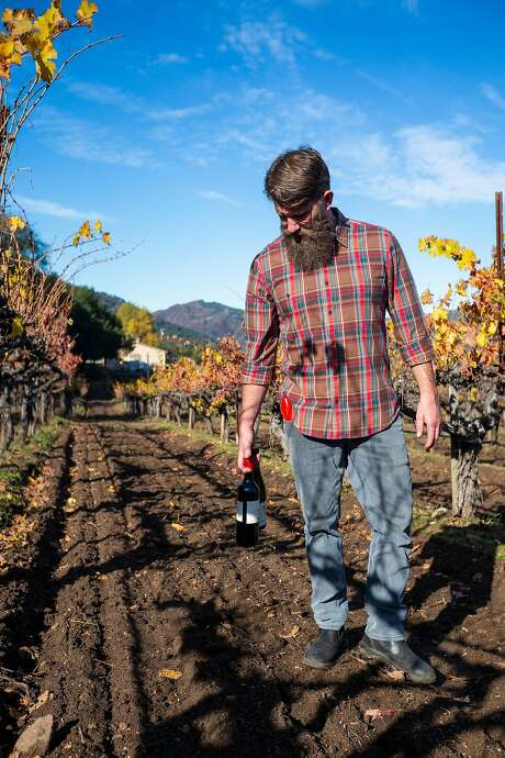 Ian Brand has entered into an unusual partnership with the Durney Vineyard, in which he's helping place the vineyard's fruit in the hands of other winemakers. Photo: Nic Coury / Special To The Chronicle