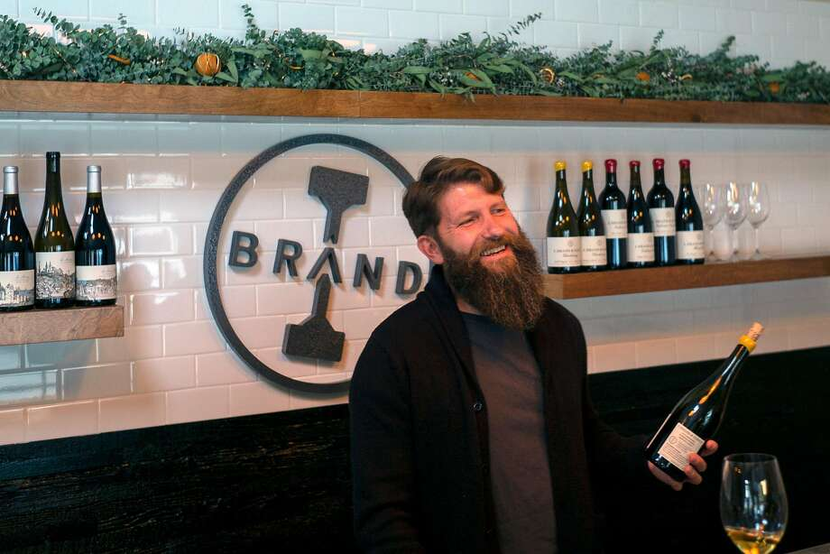 Ian Brand opened his tasting room in Carmel Valley Village in 2017. Photo: Nic Coury / Special To The Chronicle