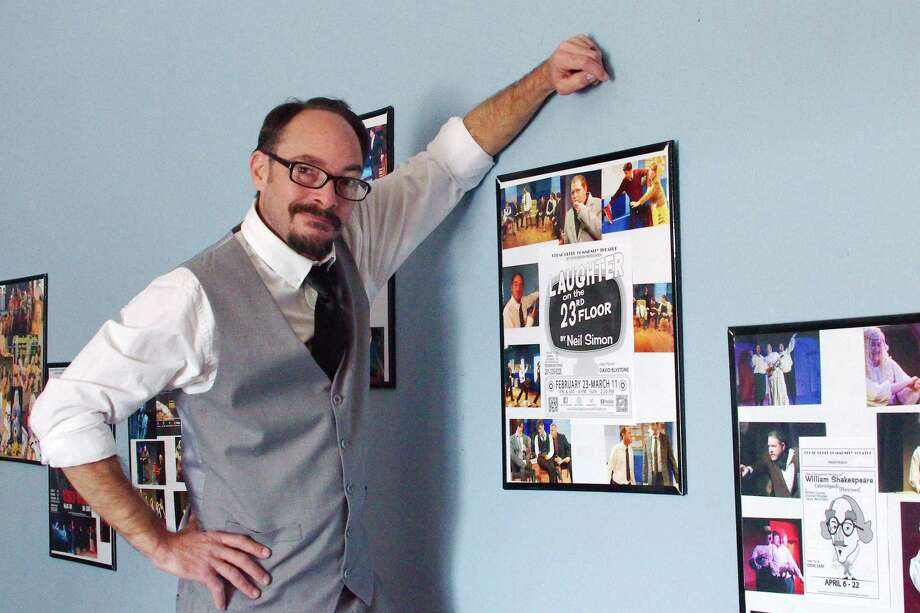 "Brian Treybig of Kemah is a leading contender in the ""best actor in a play"" category in fan voting for the 2018 Broadway World Houston Awards. He was nominated for his performance for a role in Neil Simon's ""Laughter on the 23rd Floor"" at Clear Creek Community Theatre. Photo: Kirk Sides / Staff Photographer / © 2018 Kirk Sides / Houston Chronicle"