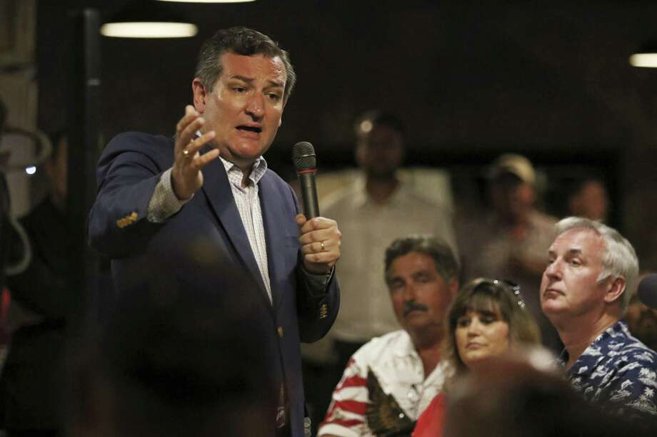 Republican U.S. Sen. Ted Cruz of Texas has introduced to Constitutional amendment to limit terms of office in Congress. (Jacob Ford/Odessa American via AP) Photo: Jacob Ford, MBI / Associated Press / Odessa American