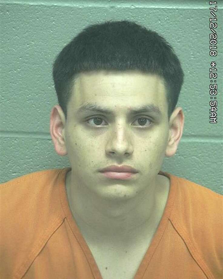 Anthony Avila, 22, was arrested Dec. 15 after he allegedly drove a vehicle toward a Midland police officer, according to court documents. Photo: Midland County Sheriff's Office