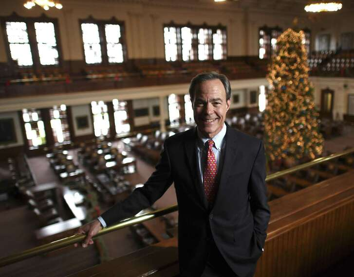 Speaker of the Texas House of Representatives Joe Straus has served for 10 years. He is going back to private life, but says that he will continue to be seen around Austin.