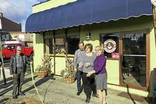 The Good Company Coffee House on Franklin Street is near the parking lot that the city is expected to buy.