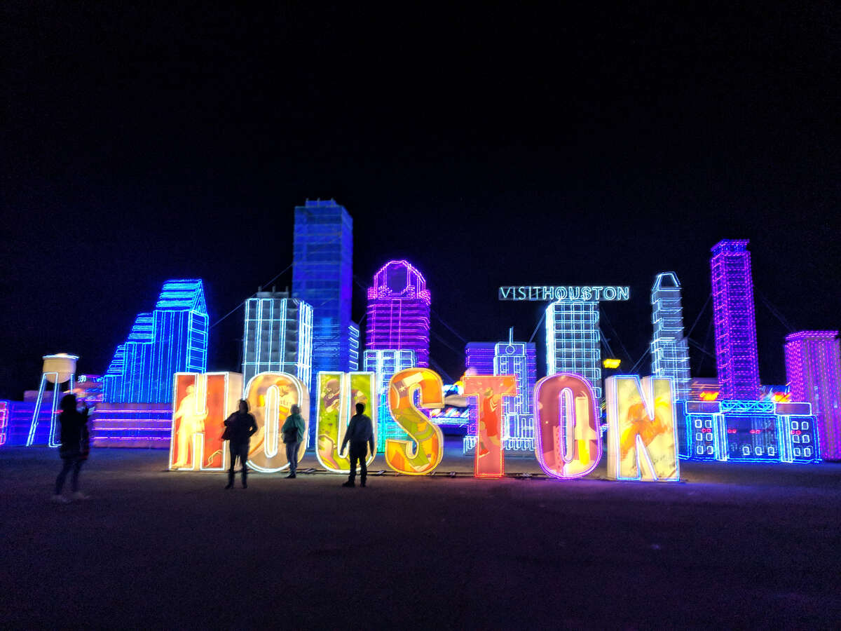 The city of Houston is celebrated at this holiday event in La Marque.