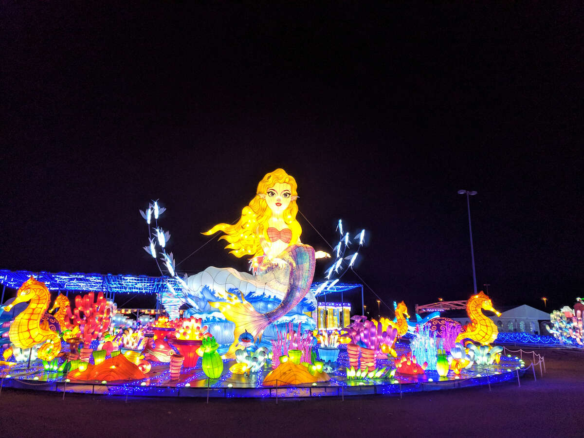 It's all about illumination at this attraction in La Marque.