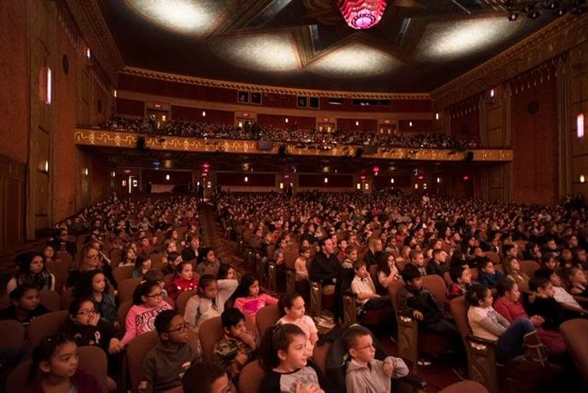 Students from the Torrington Public School system nearly filled the Warner Theatre on Dec. 14 for a special performance of
