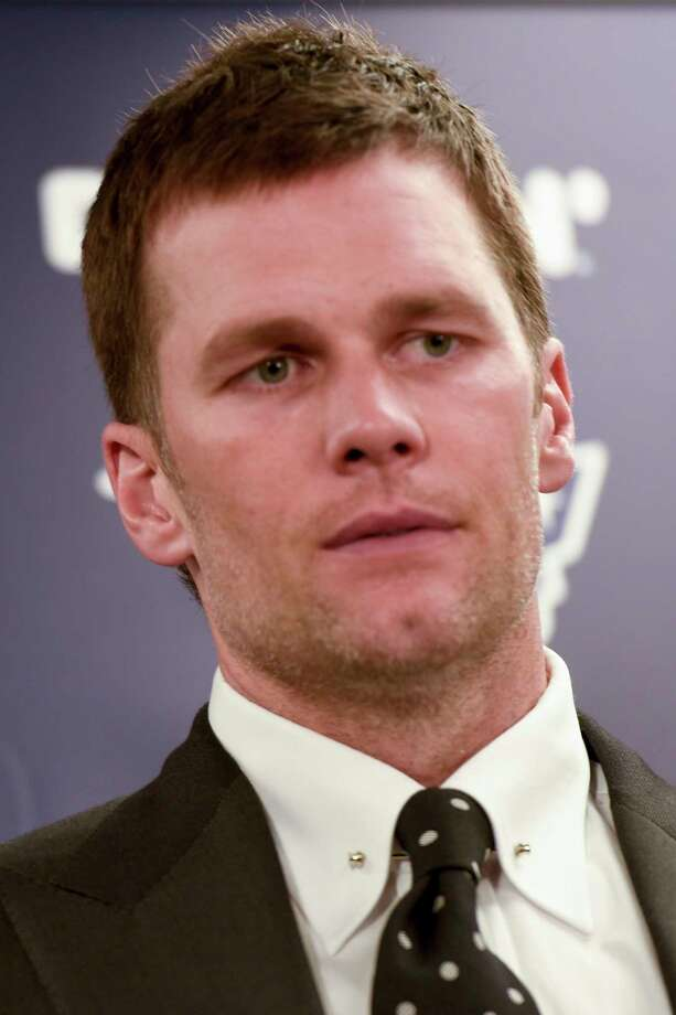 New England Patriots quarterback Tom Brady talks to reporters during a news conference after an NFL football game against the Pittsburgh Steelers, Sunday, Dec. 16, 2018, in Pittsburgh. (AP Photo/Don Wright) Photo: Don Wright / Copyright 2018 The Associated Press. All rights reserved