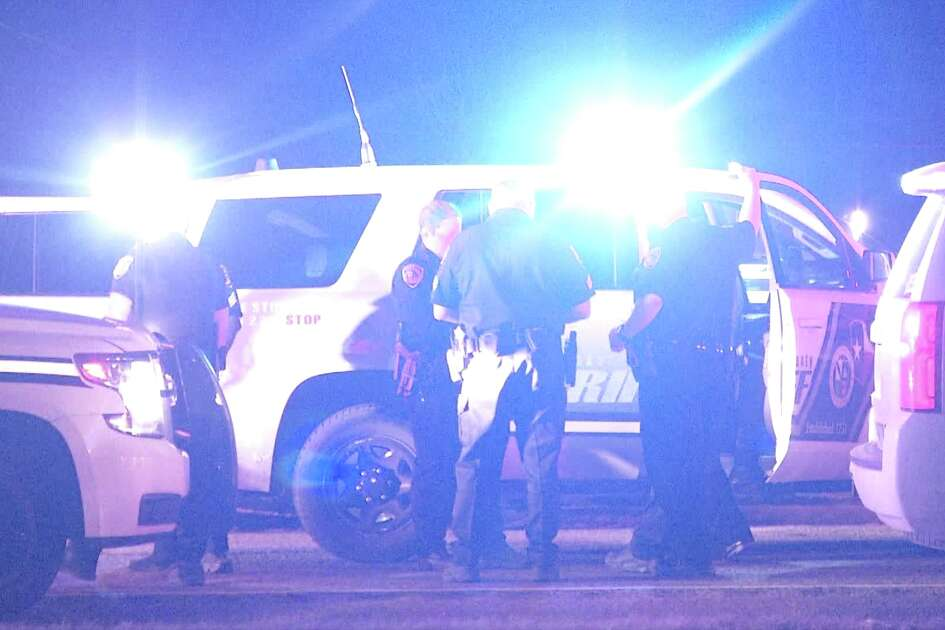 Deputies responded to the domestic violence call at about 11:50 p.m. at a home in the 8200 block of Glen Lark. When they arrived, the suspect was driving onto the victim's porch, threatening to drive through her home.