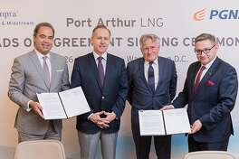 Sempra Energy-owned Port Arthur LNG has signed a 20-year supply deal with Poland's state-owned natural gas company.