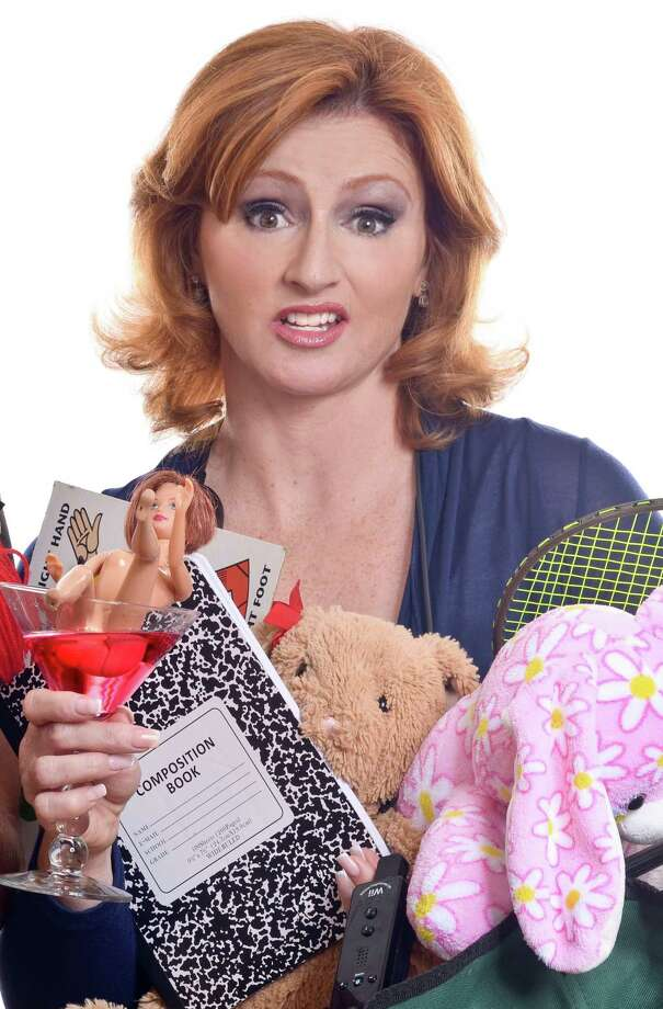 """Sherry Davey brings her new one-woman show """"The Bi-Polar Express"""" to the Wood Theater in Glens Falls on Saturday, Dec. 22, 2018. (Photo courtesy Sherry Davey.)"""