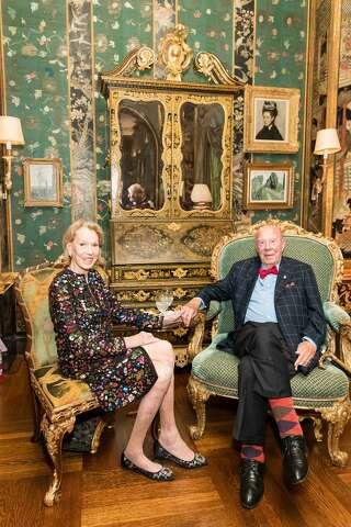 PCharlotte Shultz And George Attend Gordon Peter Gettys 85th Birthday Celebration On