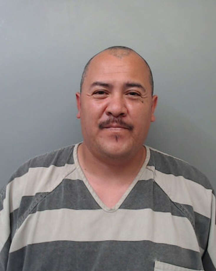 Nicolas Salinas, 40, was charged with theft. Photo: Webb County Sheriff's Office