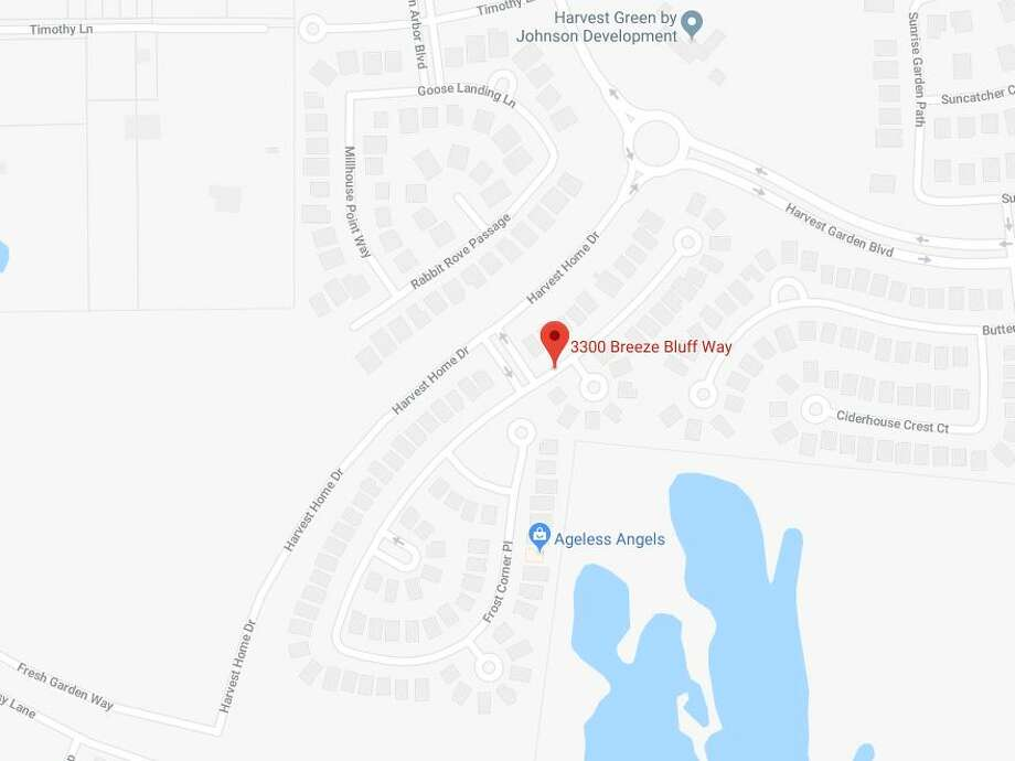 One person is dead and another is in critical condition after a shooting in the 3300 block of Breeze Bluff in Richmond, on Wednesday, Dec. 19, 2018.  >>Here are the area's other murder-suicide cases from 2018... Photo: Google Maps