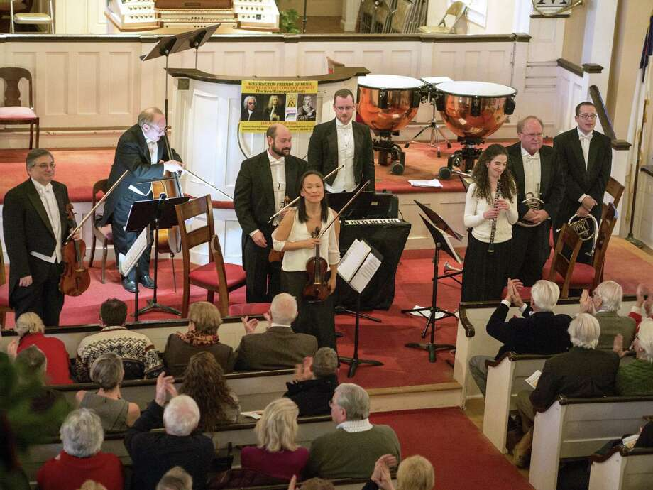 The 2017 New Year's Day concert celebration. Photo: Washington Friends Of Music / Contributed Photo