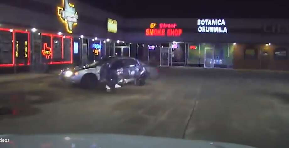 Dashcam captures man shooting at deputy Police tried to pull over a driver for making an improper turn in September. That turned into a police chase that reached speeds up to 90 mph, and the driver later shot toward the officer, who was not hit. See the video...