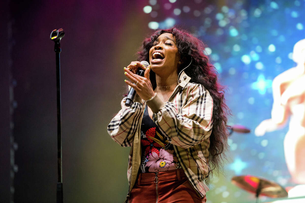 FILE - In this March 9, 2018 file photo, SZA performs at the 2018 BUKU Music + Art Project at Mardi Gras World in New Orleans. A list of nominees in the top categories at the 2019 Grammys, including Kendrick Lamar, who is the leader with eight nominations, were announced Friday, Dec. 7, 2018, by the Recording Academy. Drake, Cardi B, Brandi Carlile, Childish Gambino, H.E.R., Lady Gaga, Maren Morris, SZA, Kacey Musgraves and Greta Van Fleet also scored multiple nominations. (Photo by Amy Harris/Invision/AP, File)
