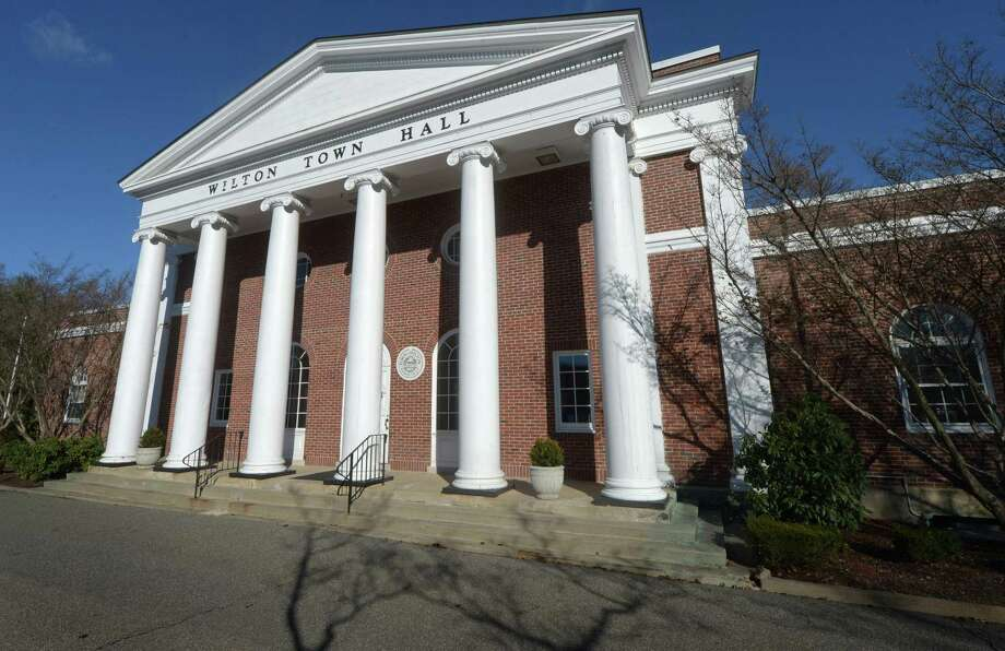 Wilton Town Hall Wednesday, December 4, 2018, in Wilton, Conn. Photo: Erik Trautmann / Hearst Connecticut Media / Norwalk Hour