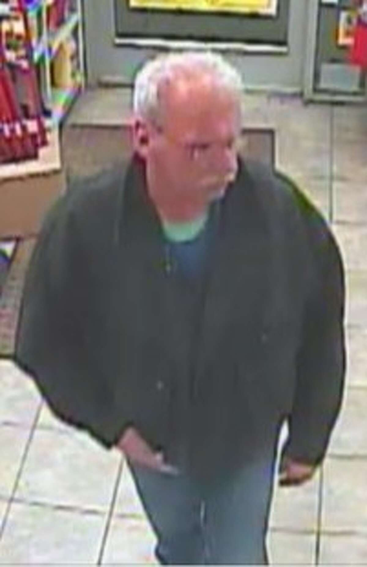 This is one of two people the Bethlehem Police are trying to identify in their recent larceny investigation. (Photo provided)