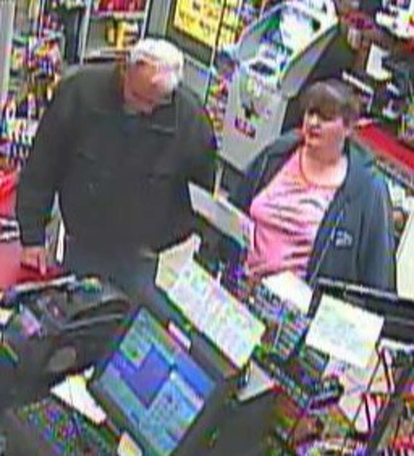 Bethlehem Police said Wednesday, Dec 19, are trying to identify two people as they conduct a larceny investigation. (Provided)