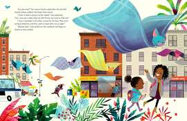 """An illustration by Leo Espinosa from Junot D�az's """"Islandborn,"""" a picture book."""