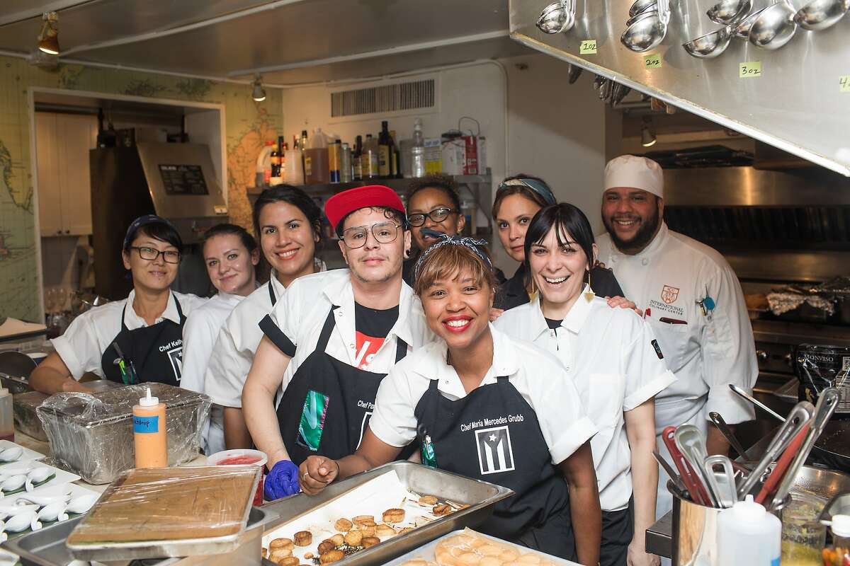 Photos of the Puerto Rican dinner at the James Beard House in New York City.