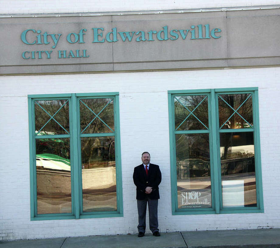 Tim Harr, Edwardsville's city administrator, is set to retire Dec. 31 after 22 years of service to the city. Photo: Charles Bolinger | The Telegraph