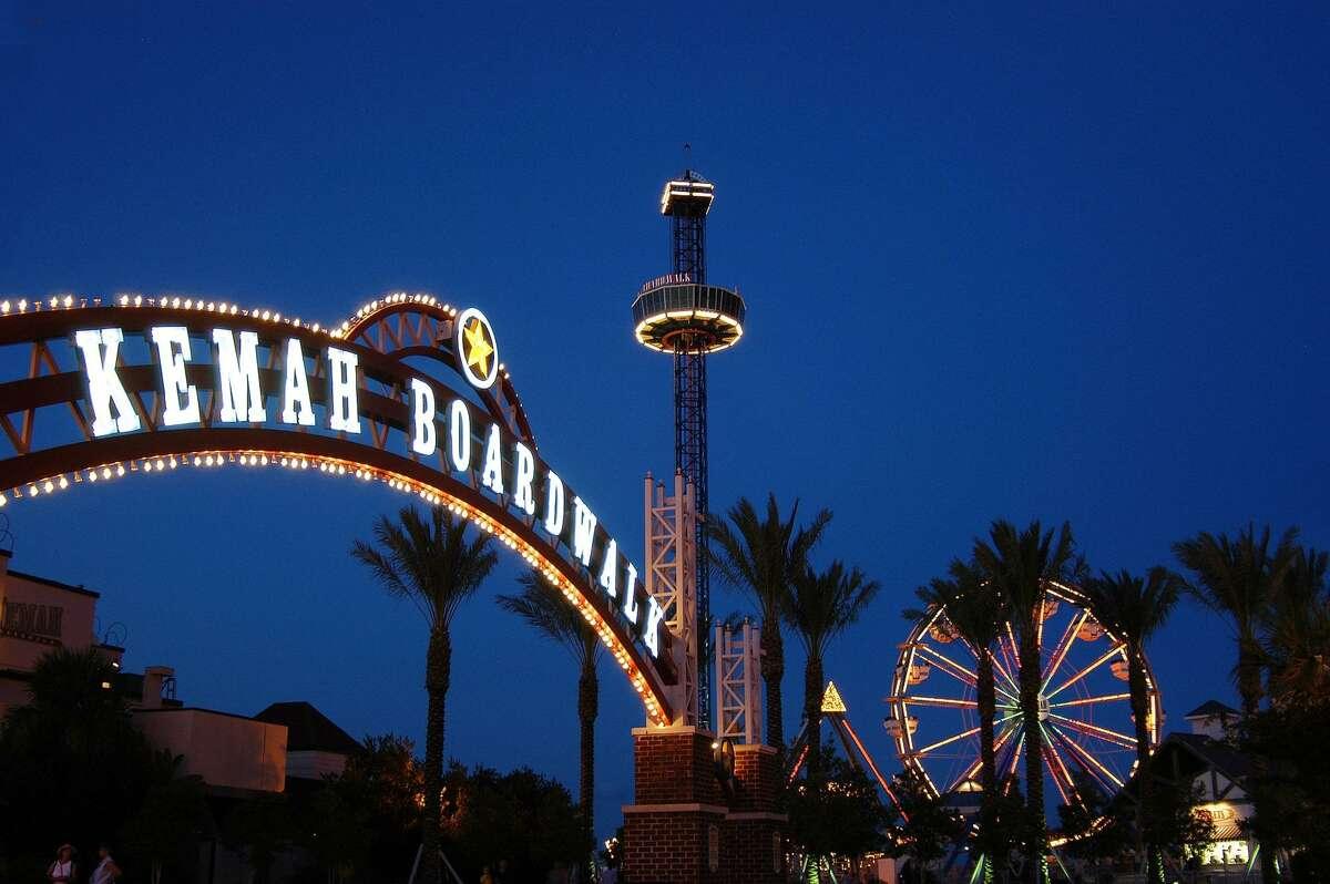 Kemah Boardwalk - open all year. For information, visit www.kemahboardwalk.com.