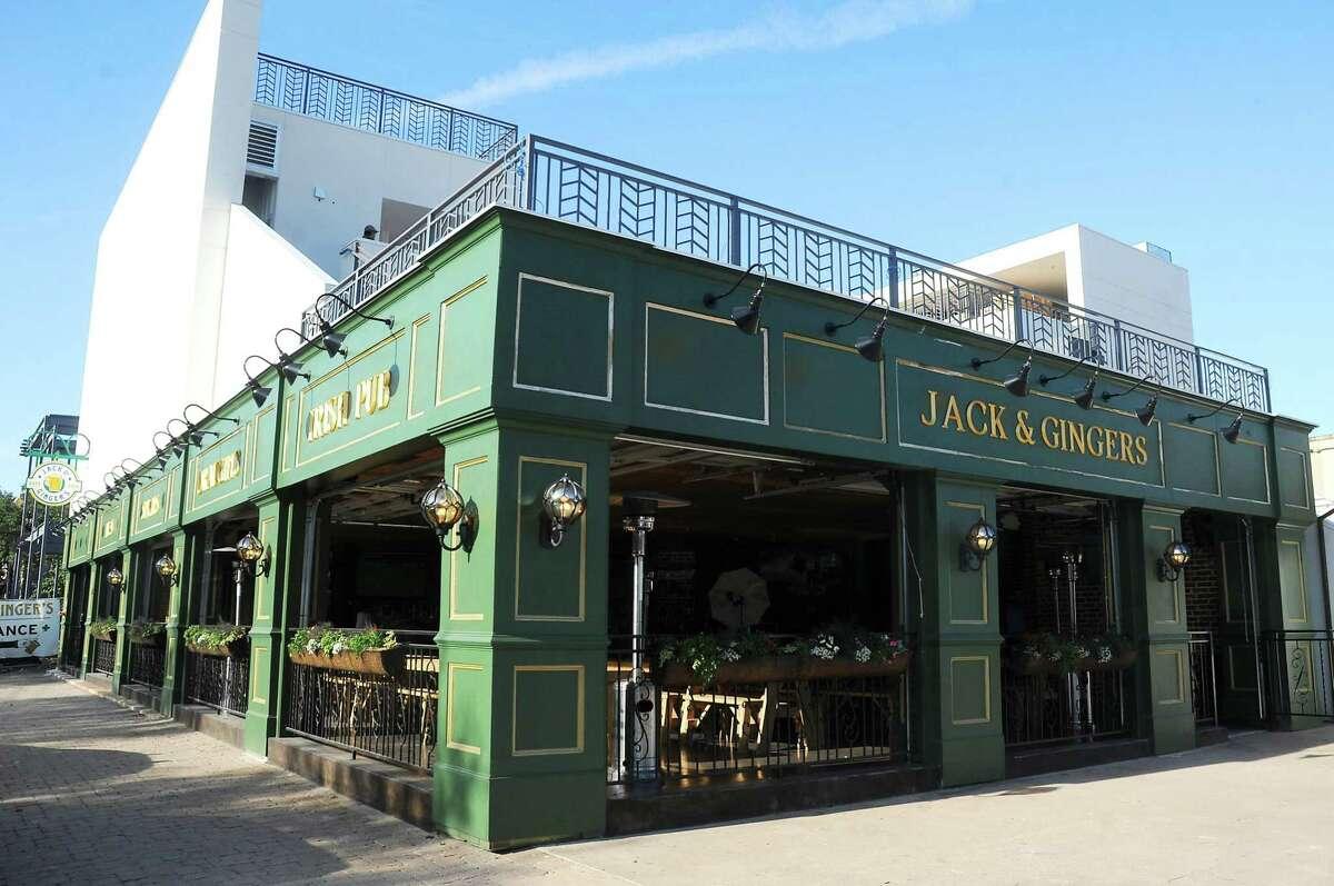 22.Jack & Ginger's Irish Pub/77 Degrees Address: 2416 Brazos St Total Receipts: $$357,211