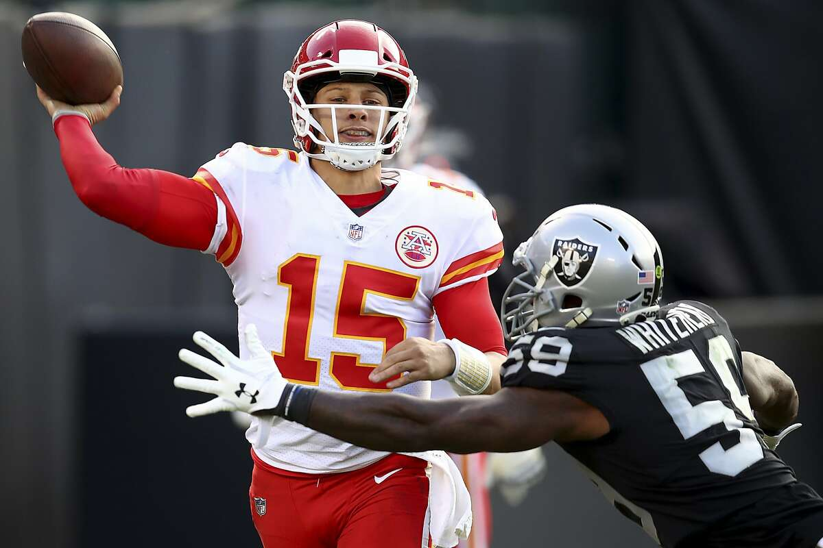 Is there anything you've seen from Mahomes this season that you could apply to your game? Wilson: