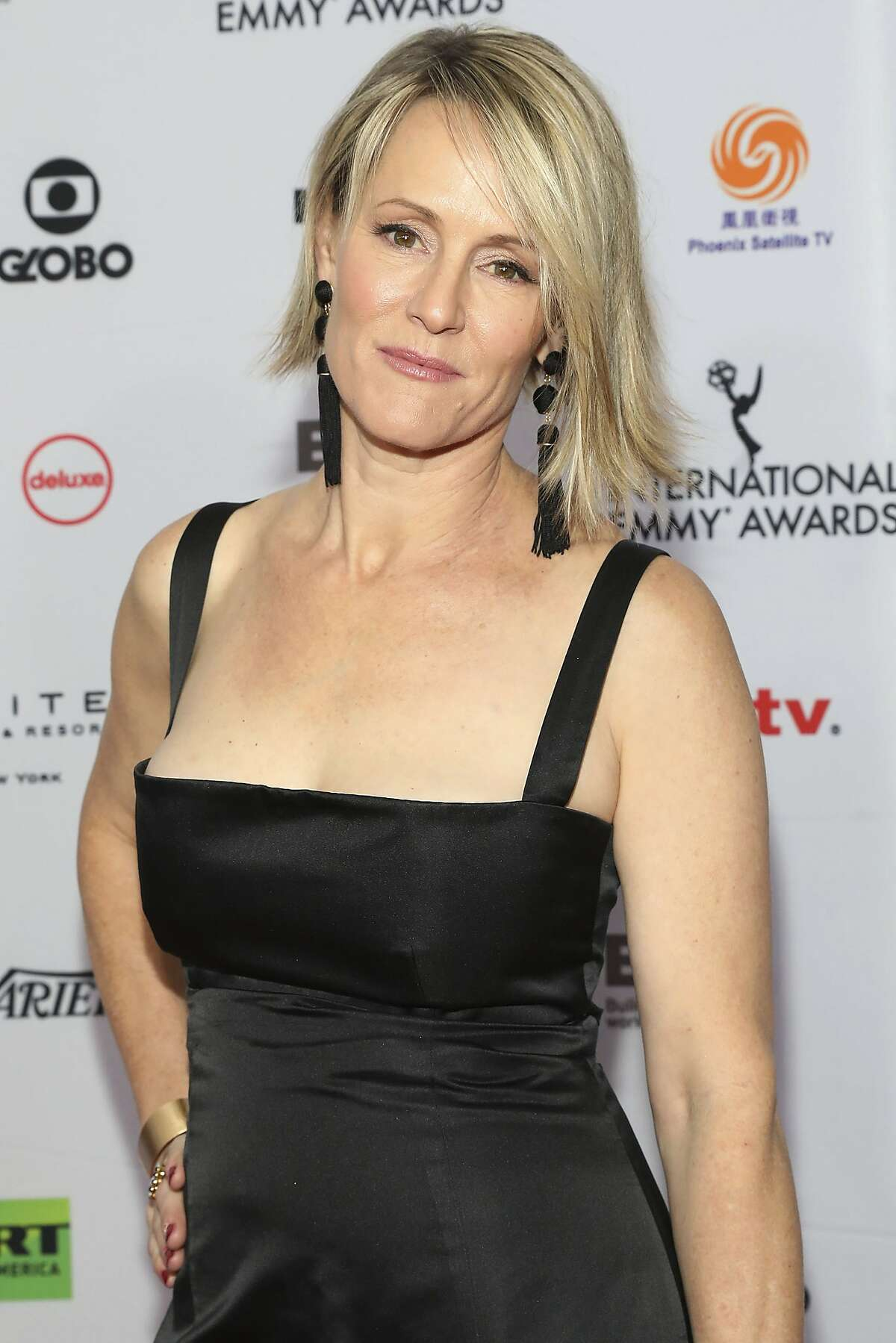 Mary Stuart Masterson attends the 46th International Emmy Awards at The New York Hilton on Monday, Nov. 19, 2018, in New York. (Photo by Amy Sussman/Invision/AP)