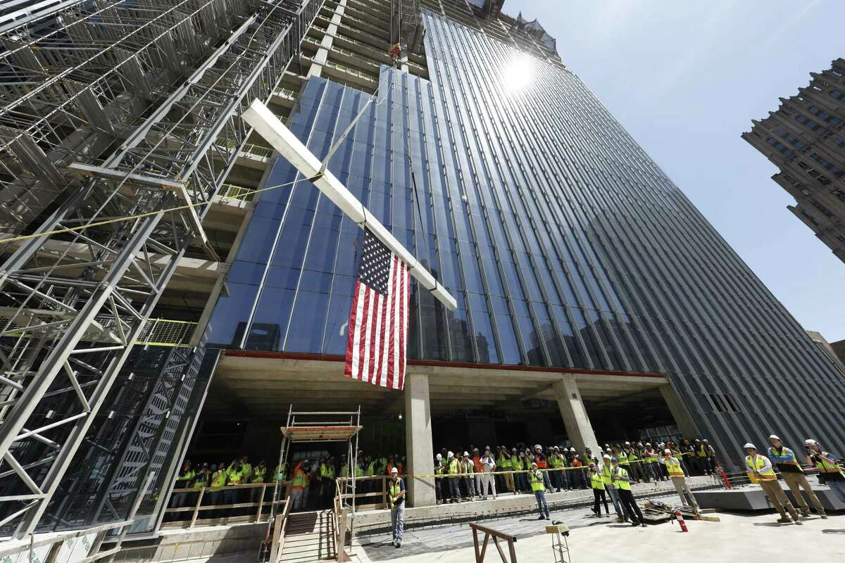 Winston & Strawn has signed up as a tenant in downtown's Capitol Tower, which celebrated its topping out in April.