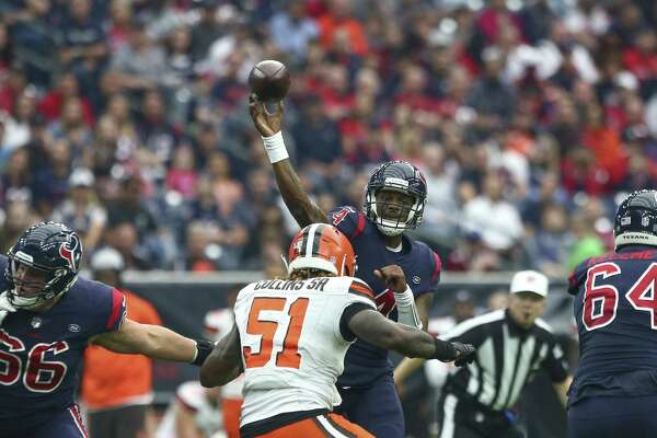 4a8bc01fb 1of2Deshaun Watson has rallied the Texans to victory in the fourth quarter  or overtime five times this season.Photo: Godofredo A. Vasquez, Houston  Chronicle ...