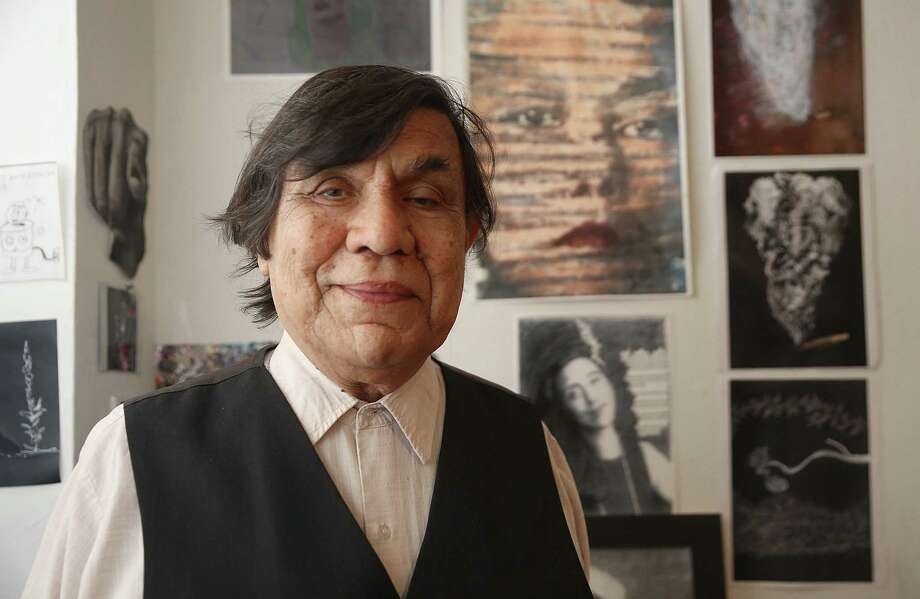 The late René Yañez, who popularized Dia de los Muertos and Frida Kahlo, was a co-founder of Galería de la Raza. The Chicano/Latino cultural institution is losing its home of nearly 50 years. Photo: Liz Hafalia / The Chronicle / online_yes