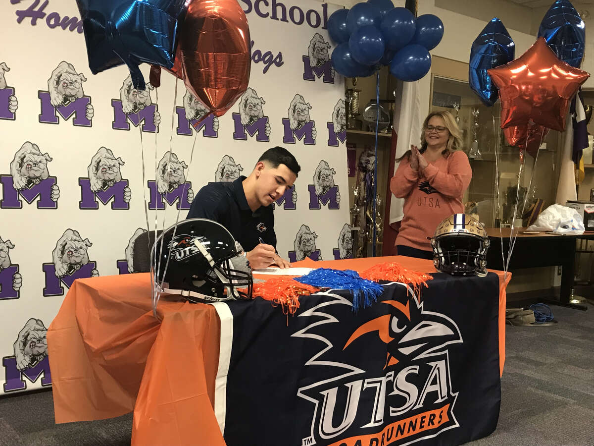 Click through to see the area student athletes who have signed letters-of-intent to play collegiately during the 2018-2019 school year. Football: Suddin Sapien, Midland High, UTSA