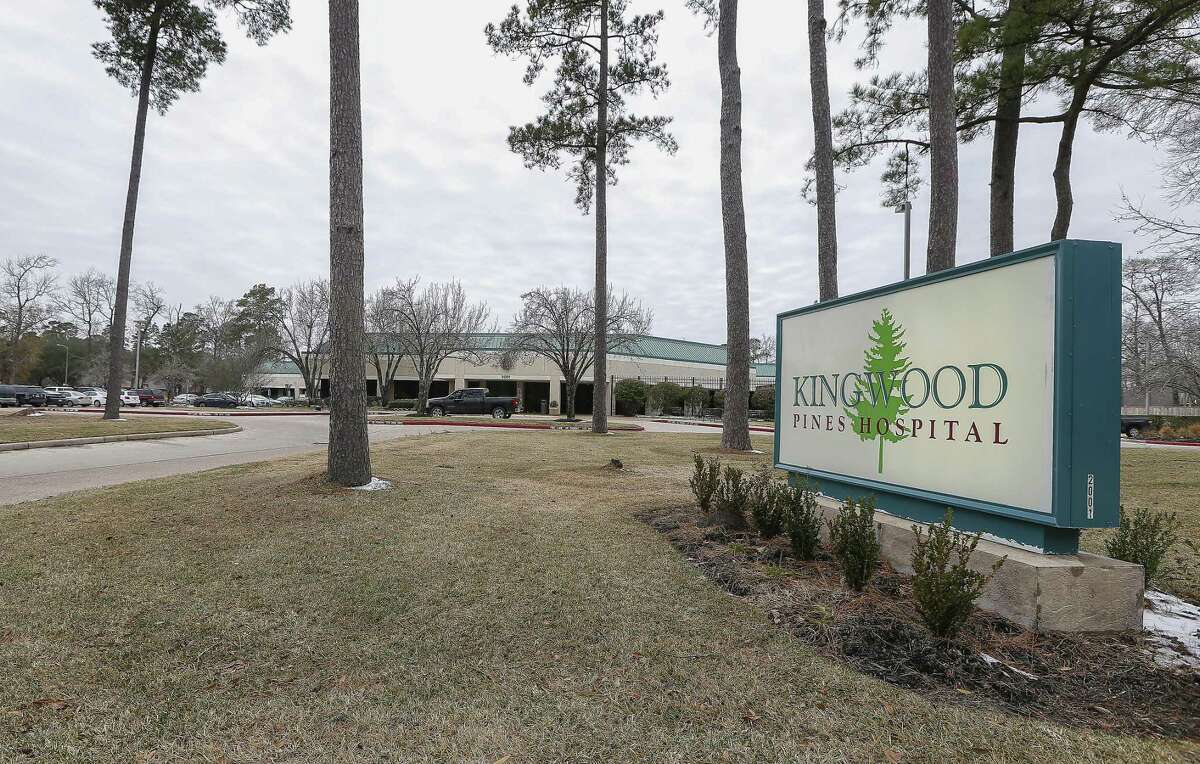 Exterior photograph of Kingwood Pines Hospital, 2001 Ladbrook Drive, Thursday, Jan. 18, 2018, in Kingwood. ( Steve Gonzales / Houston Chronicle )