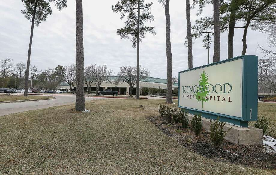 Exterior photograph of Kingwood Pines Hospital, 2001 Ladbrook Drive, Thursday, Jan. 18, 2018, in Kingwood. ( Steve Gonzales / Houston Chronicle ) Photo: Steve Gonzales, Staff Photographer / Houston Chronicle / © 2018 Houston Chronicle
