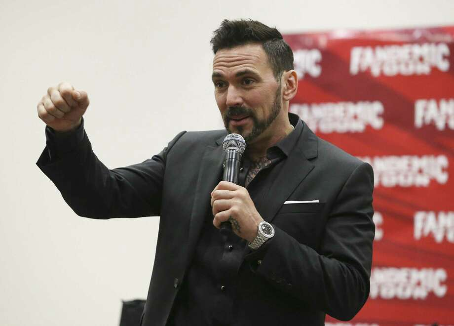 """Former Power Rangers actor Jason David Frank will make a guest appearance Dec. 29 at the Laredo Wrestling Alliance's """"Let's Say Goodbye"""" event. Photo: Yi-Chin Lee /Houston Chronicle File / © 2018 Houston Chronicle"""