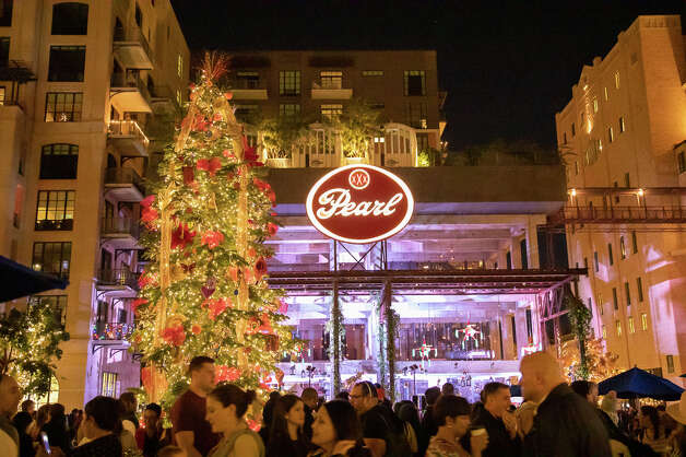 The Pearl (free): The Pearl has set up its annual tree and lit up its site in November. The Pearl is located at 303 Pearl Pkwy and is open from 8 a.m. to 10 p.m. Photo: Joel Pena