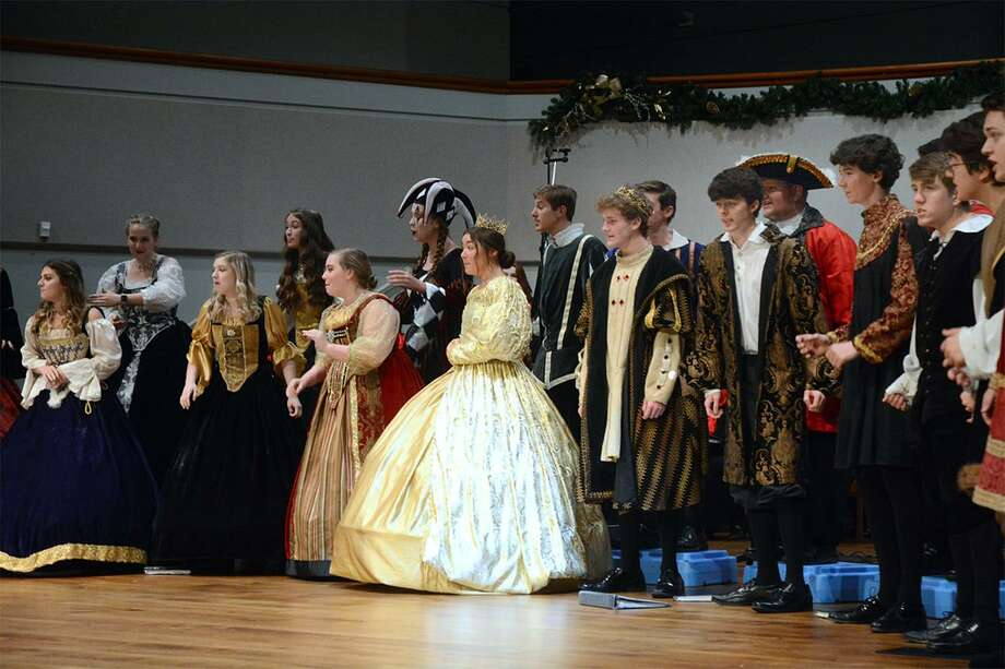 "Montgomery High School's Montgomery Madrigals performed as a part of the Montgomery County Choral Society's ""A Christmas Wish"" concert on Dec. 7 at United Methodist Church in Conroe. Photo: Photo By David Hopper"