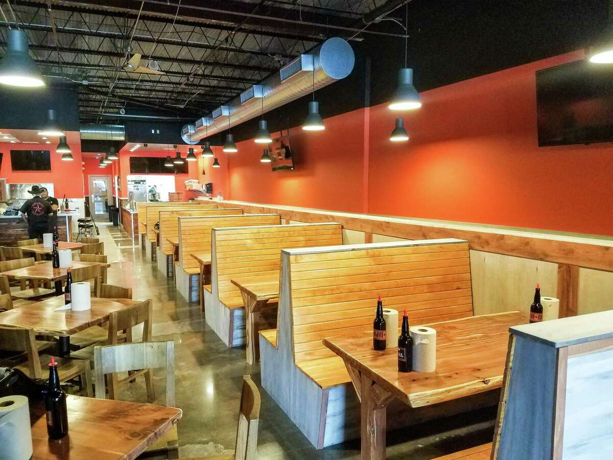 The dining room at new Blood Bros. BBQ in Bellaire