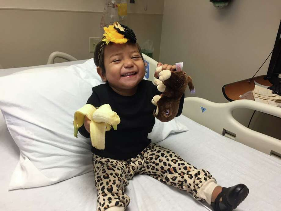 Native Laredoan and courageous toddler Bella Sanchez tragically passed away on Tuesday after battle with leukemia. Photo: Courtesy Ray Sanchez