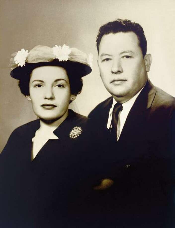 """Pedro """"Pete,"""" right, and Cruz Cortez, founders of Mi Tierra. Photo: Cortez Family"""